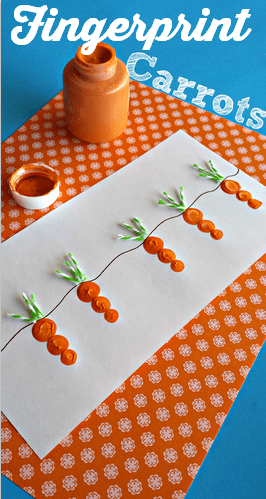 carrot-fingerprint-easter-craft-for-kids