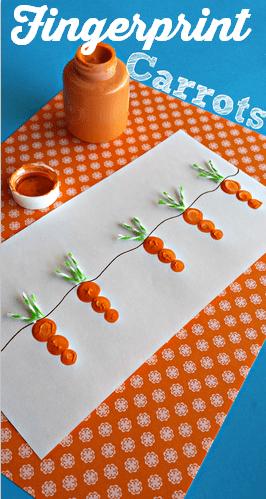 carrot-fingerprint-easter-craft-for-kids