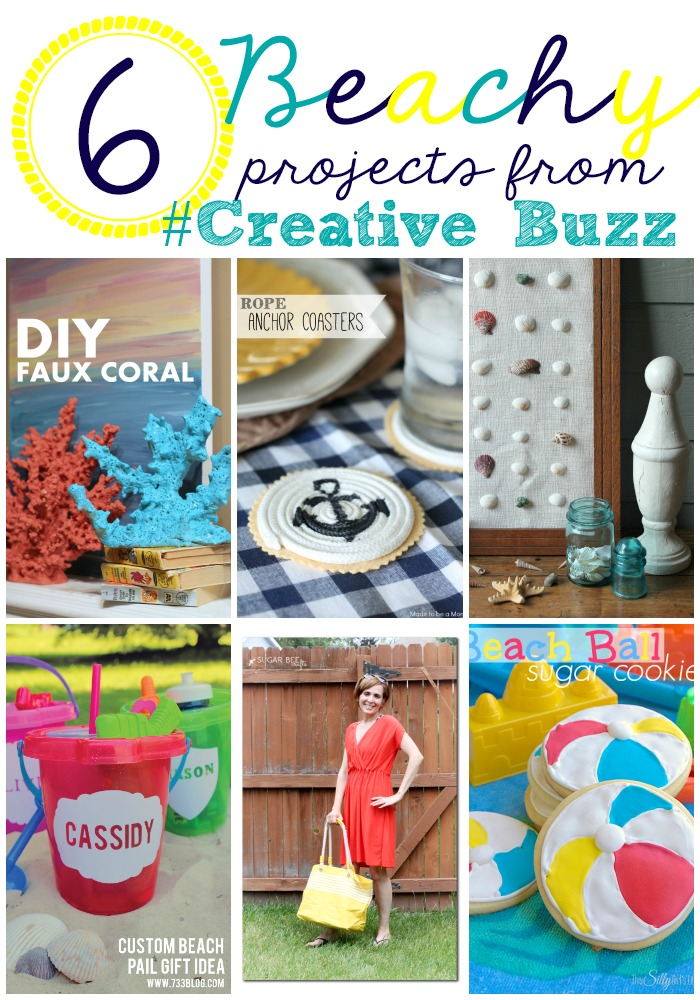 6-Beach-Inspired-projects-from-#CreativeBuzz- perfect-for-Summer!