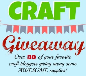 B.I.G. Craft Giveaway! slider