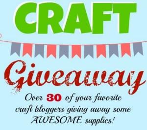 B.I.G. Craft Giveaway! slider