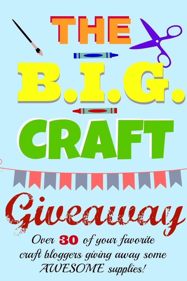 B.I.G. Craft Giveaway!