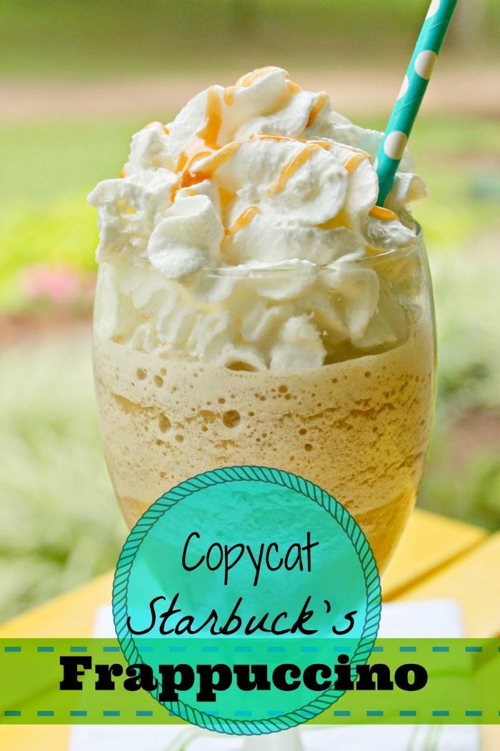 Copycat Starbucks Frappucino