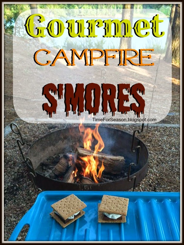 Gourmet Campfire S'mores