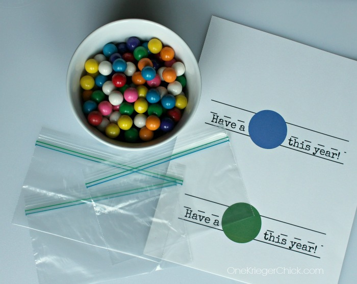 Have a ball this year-printable gift bag topper
