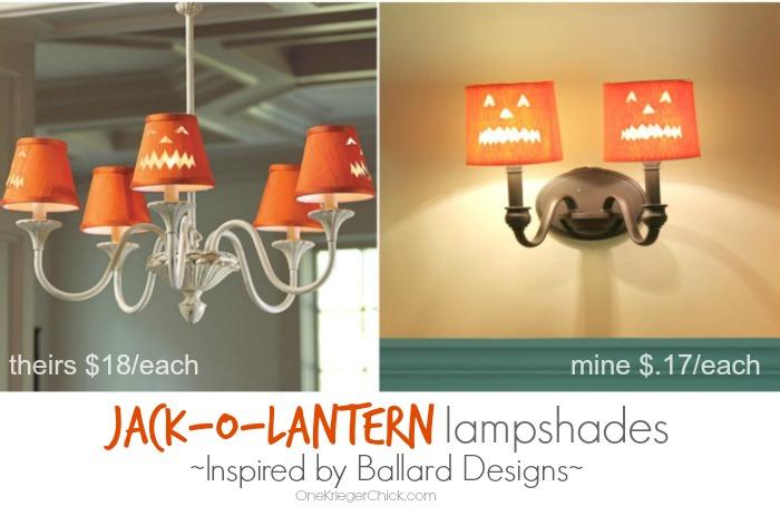 Ballard Designs Inspired Lampshades-OneKriegerChick.com