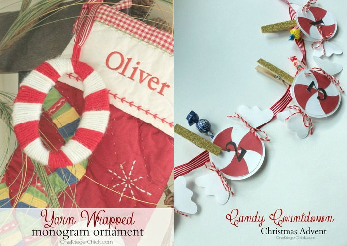 OneKriegerChick Christmas Projects