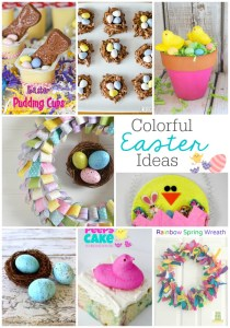 8 Colorful Easter ideas to eat and craft- So fun!