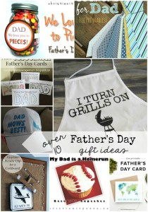 Over 10 Super Fun gift ideas for Father's Day!
