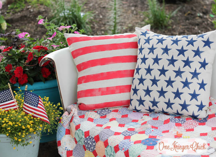 Stars and Stripes Pillows 23