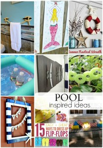 9 Pool Inspired Ideas you'll want today! OneKriegerChick.com