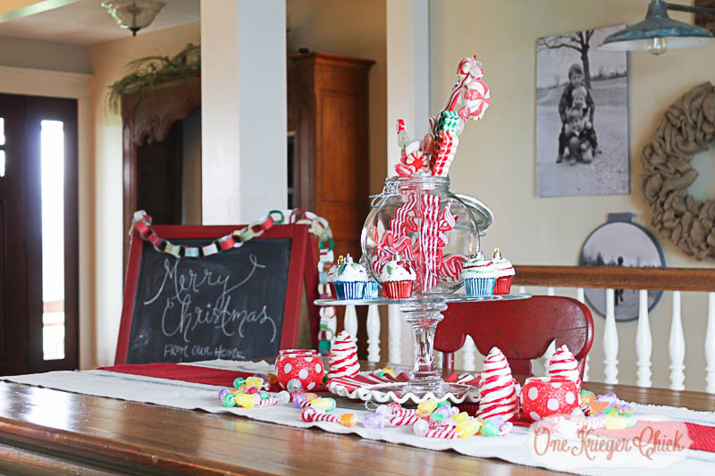Candy Tablescape- OneKriegerChick.com