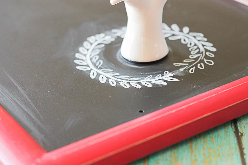 Chalkboard writing couldn't be easier! OneKriegerChick.com
