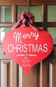 Pottery Barn Inspired Merry Christmas Sign-2- OneKriegerChick.com-9485