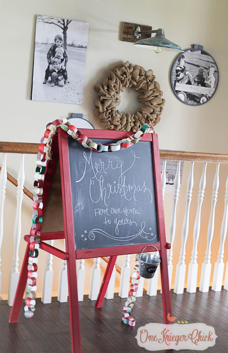 A Very Merry Christmas 2015-2-OneKriegerChick Home Tour