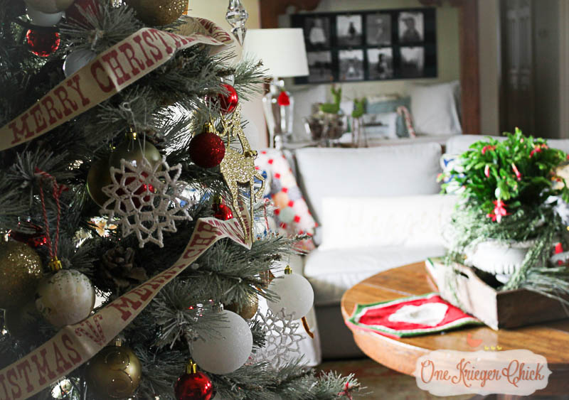 Oh Christmas Tree 2015-2-OneKriegerChick Home Tour
