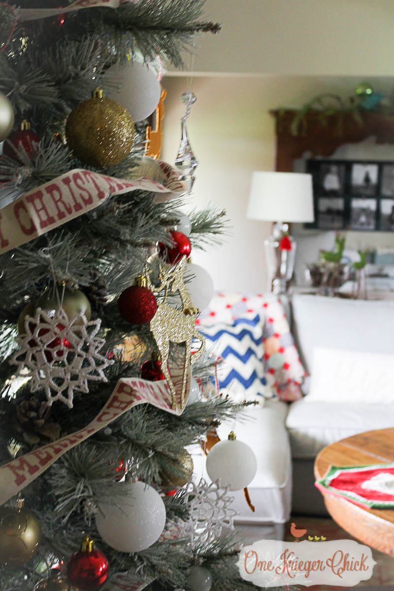 Oh Christmas Tree 2015-OneKriegerChick Home Tour