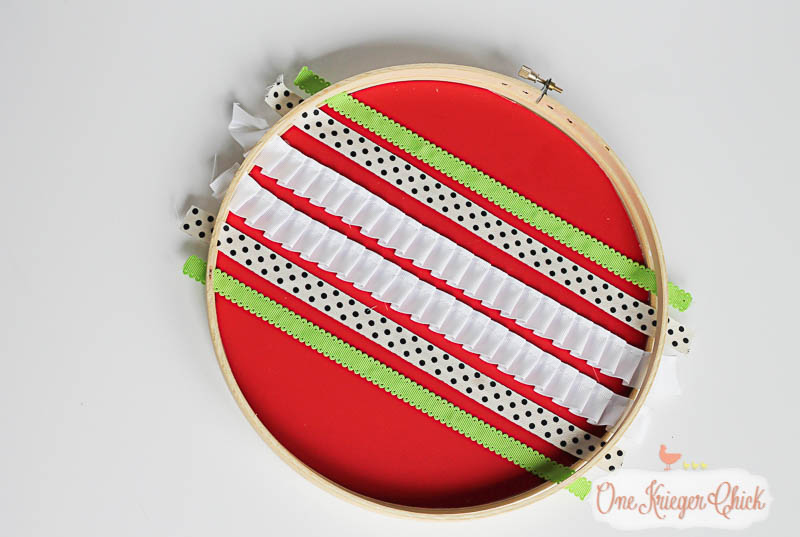 Ornament Hoop Art- How to make your own-14- OneKriegerChick.com