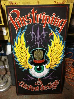 Martin Cloutier, Pinstriping - www.tattooart.ca