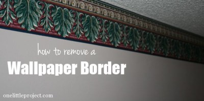 How to remove a wallpaper border