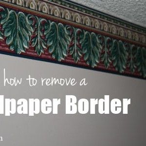 Scenery Wallpaper: How To Remove Wallpaper Border