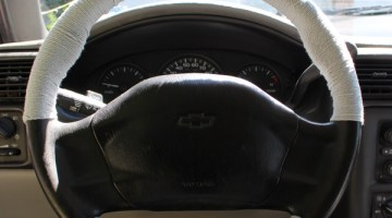 How to make a quick & cute steering wheel cover