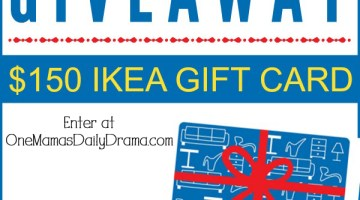 $150 IKEA gift card giveaway {ends June 30}
