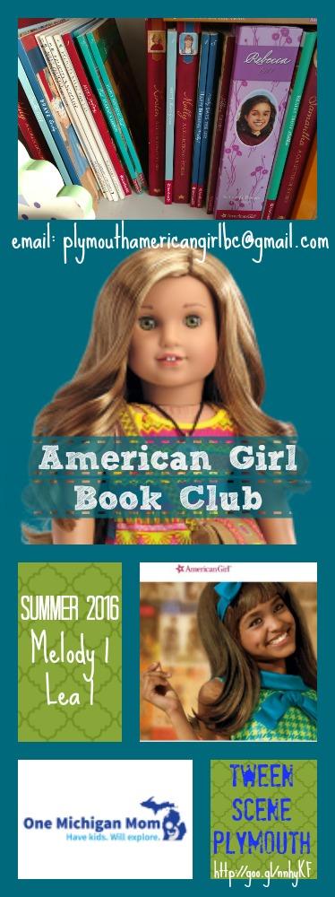 American girl book club in plymouth mi