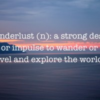 Wanderlust.. About Me