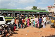 bus in india,