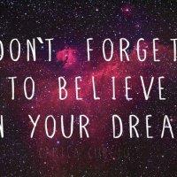 I must BELIEVE!
