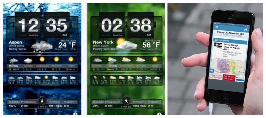 weather, weather app, smartphone apps