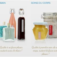 Plaisir du bain : BLANCREME test du nectar de bain cranberry