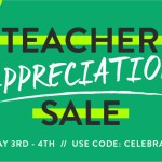Teacher Appreciation Sale 2016