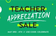 Teacher Appreciation Sale 2016