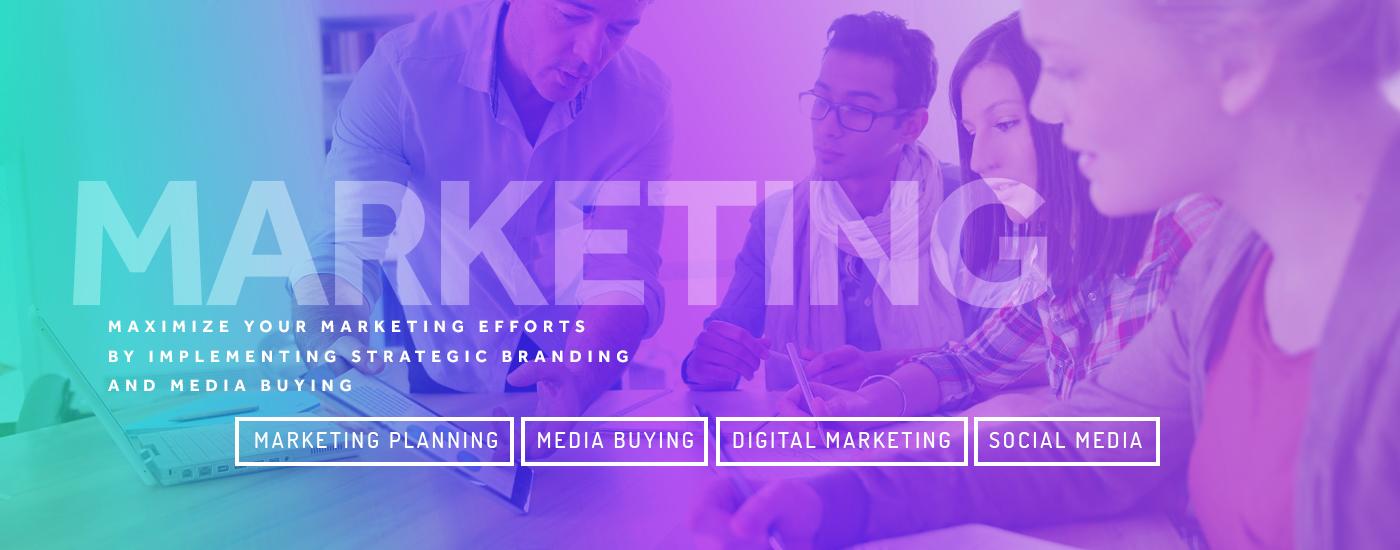 banner for marketing