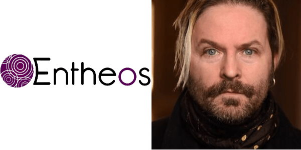 entheos logo and kevin max