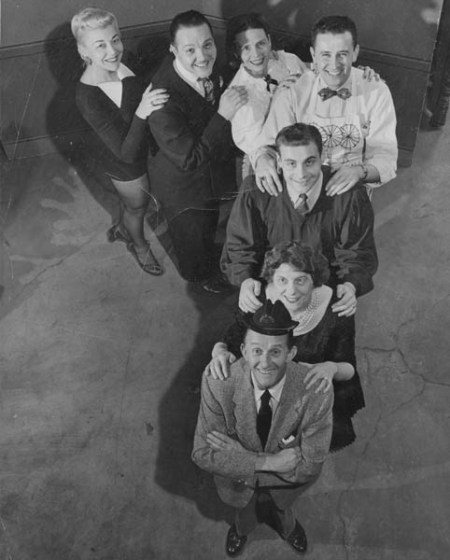 Stars of WEWS, Channel 5, Cleveland in the 1950's