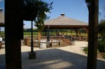 Dining Patio at Ferrante Winery in Harpersfield