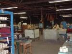 Workers mixing clay at Homer Laughlin China Company