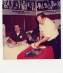 "Vernon ""Komar"" Craig and Neil Zurcher at IX Center 1989 Cleveland, Ohio"