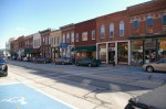 Rice Street in downtown Elmore