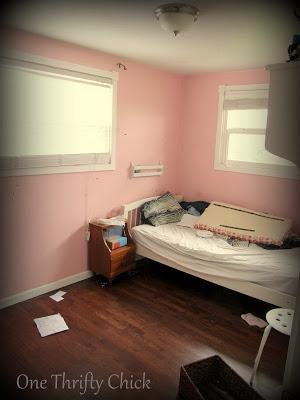 An Industrial Dream {boys room makeover}
