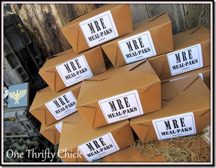 DIY MRE Meal Kits {Free Printable}