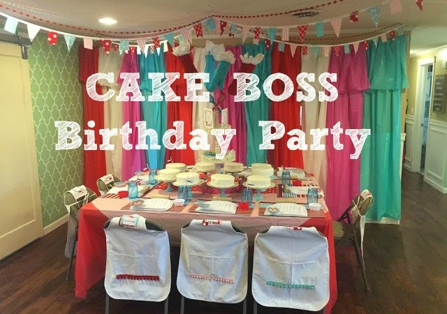 Cake Boss Birthday Party