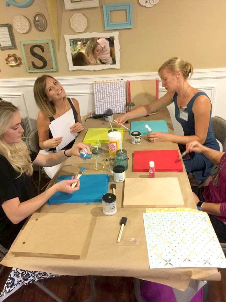 craft club ladies