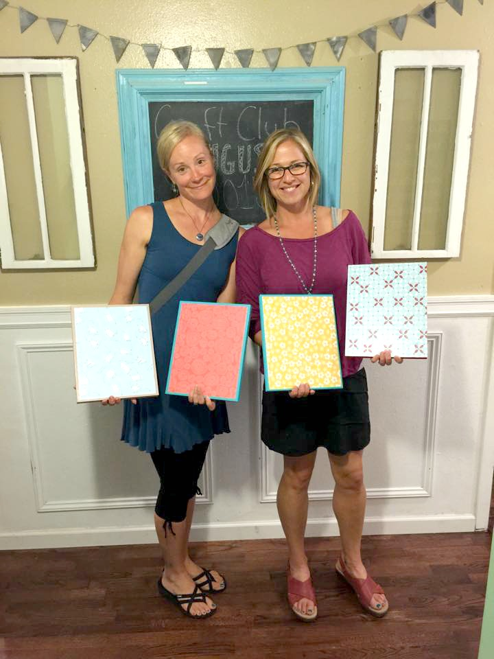 craft club ladies clipboard