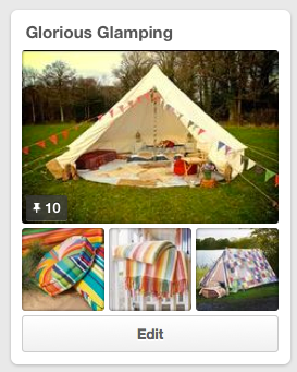 glamping on pinterest