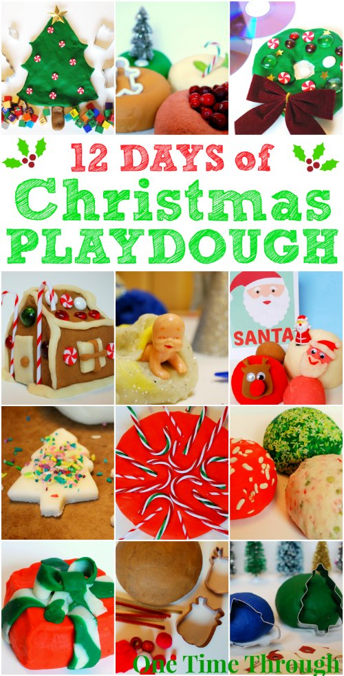 12 Days of Christmas Playdough
