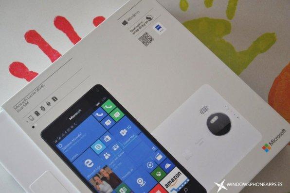 lumia 950 xl - caja 1